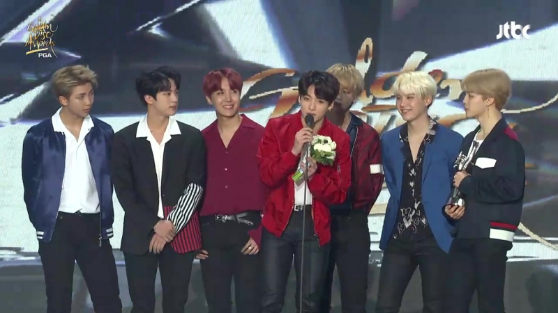 180111 Album of the Year Daesang Award @ 32nd Golden Disk Awards Day 2