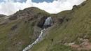Водопад Девичьи косы в Приэльбрусье