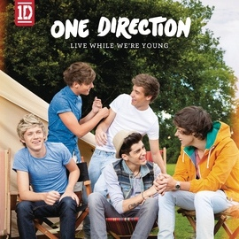One Direction альбом Live While We're Young