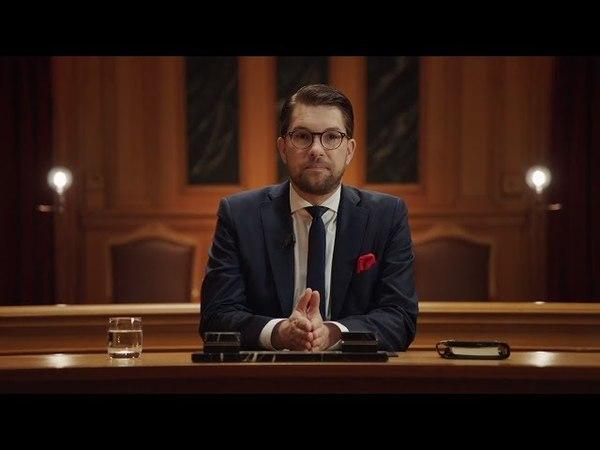 Jimmie Åkesson Tal till nationen mitt Sverige 2028