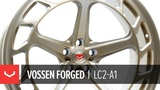 Vossen Forged LC2-A1 Wheel Patina Gold