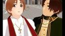 Italy Veneziano and Romano Don't judge Hetalia MMD