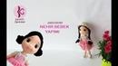 NEHİR BEBEK YAPIMI (Amigurumi Bebek Tarifi / Amigurumi Doll Pattern)