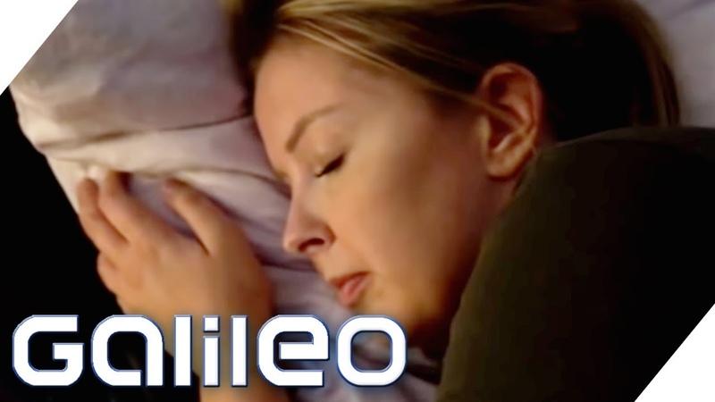 Einschlafen in wenigen Minuten: Perfekter Schlaf dank Gadget? | Galileo | ProSieben