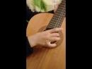 Даю первые уроки сыну игры на гитаре :) 6 лет, может и рано, тк гитара для него пока очень большая, но оказался, как и я, очень