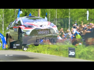 Fia world rally championship 2018 stop 8 - finland