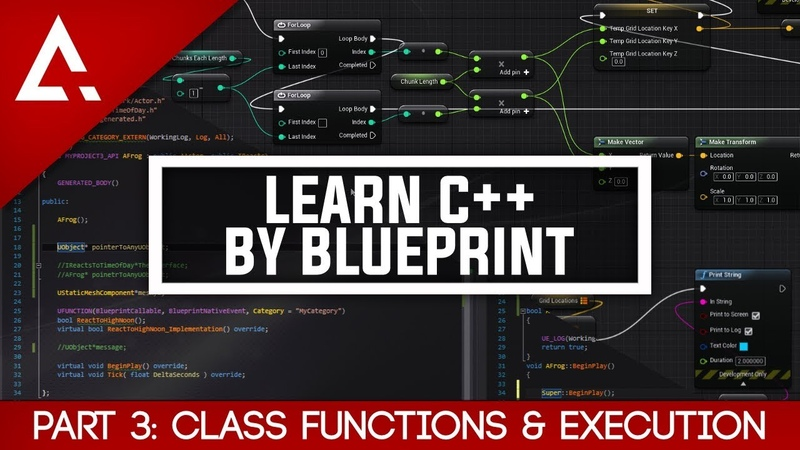 [UE4] Learn C By Blueprint - Part 3 Class Functions Execution