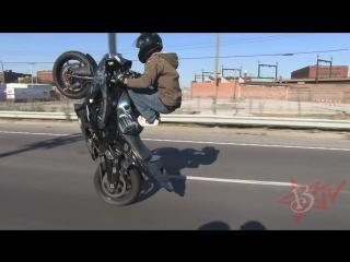 INSANE ILLEGAL MOTORCYCLE STUNTS TRICKS STUNT BIKE WHEELIES At Ride Of The Cen