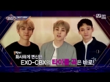 180405 EXO XIUMIN @ EXO_CBX comeback stage on M COUNTDOWN