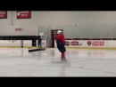 Guess I'm not the only one visiting Florida...Stanley Cup champ @ovi8 working out at the F