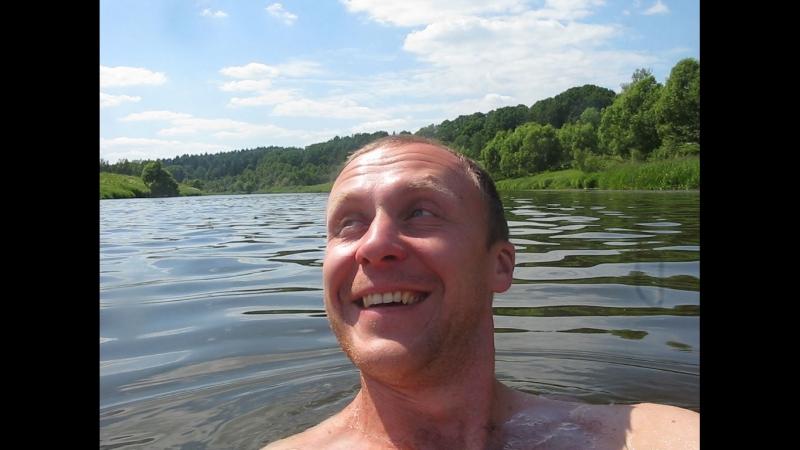 Москва река в Аниково ! Купаемся по пояс !