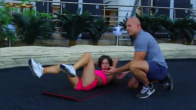 [EasyFitness] Денис Семенихин. Фитнес для девушек - Пресс. (001)