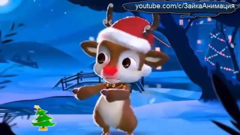 зайка Поздравление С Рождеством