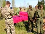 Перезахоронение останков погибших солдат 4 мая 2018 года