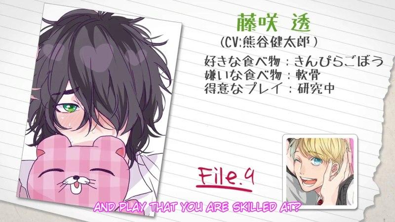 Drama CD Yarichin Bitch Club 2 Character Profile ENG Sub