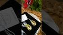 KW610024AB - Серебряные серьги Spark Teardrop со Swarovski