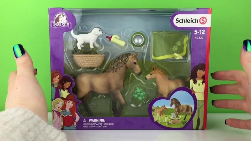 NEW 2018 Schleich / Horse Club / Sarahs Baby Animal Care