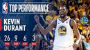 KD Shows Out For Oracle In Game 1 Of the '17-'18 NBA Finals NBANews NBA NBAPlayoffs Warriors KevinDurant