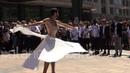 Giornata rifugiato, Joudeh danza al Parlamento Europeo