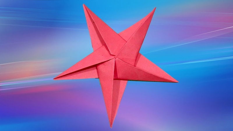 How To Make A Christmas Star | How to Make A Hanging Paper Star | Christmas Star Making.