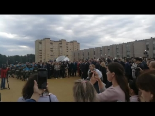 Открытие Чувашского кадетского корпуса