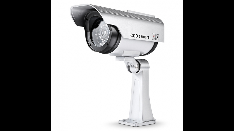 Solar outdoor dummy Camera New ABS Home and office fake camera