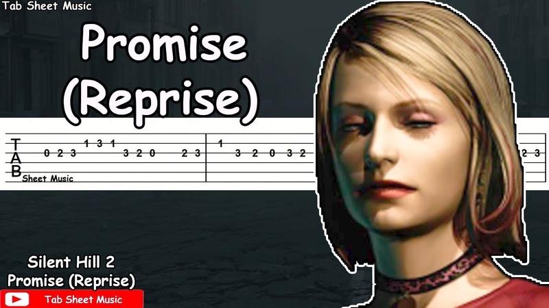 Silent Hill 2 - Promise (Reprise) Guitar Tutorial