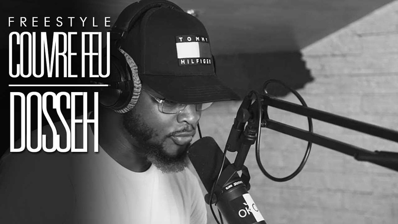 DOSSEH - Freestyle COUVRE FEU sur OKLM Radio {OKLM TV}