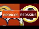 NFL 2017-2018 / Week 16 / Denver Broncos - Washington Redskins / 24.12.2017 / EN