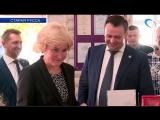 Вице-премьер Ольга Голодец стала обладателем «Карты Гостя Новгородской области»
