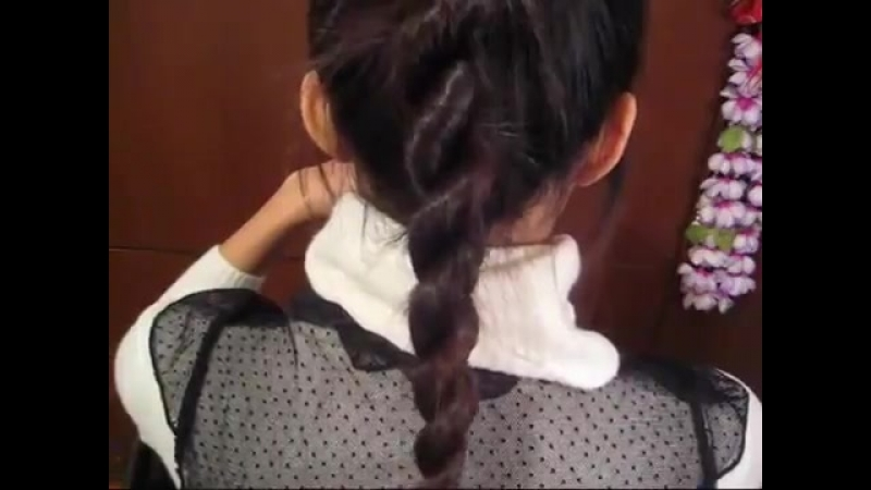 How to_ 2-Strand Twist Rope Braid Hairstyle Hair Tutorial