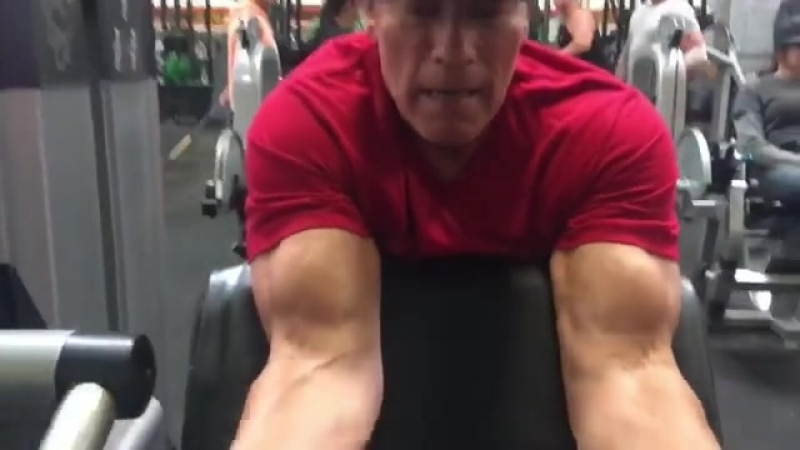 Арнольд Шварцнегер - Тренировка