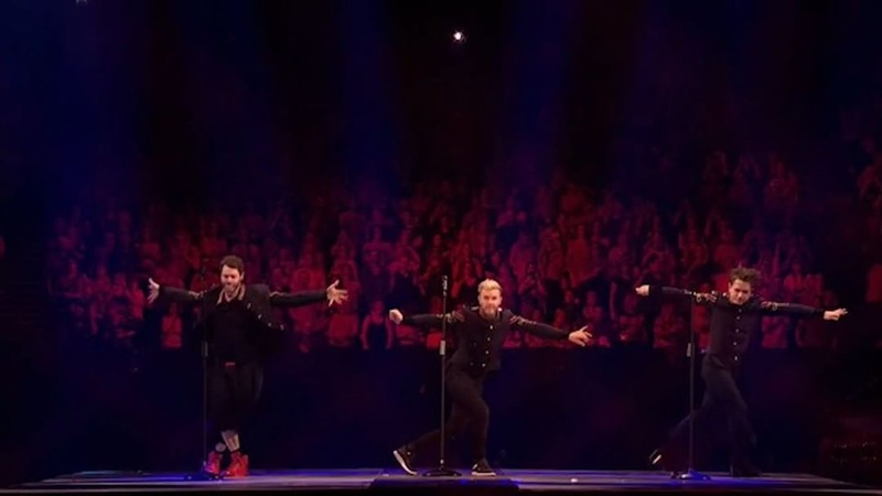 "Take That on Instagram: ""25 years…1 dance routine. Hands up if you know this one 😉 TT30"""