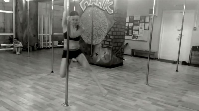 Pole PANK Dance studio /OMSK /ученица Мария/Pole dance Омск