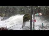 Ураган Мангхут достиг Гонконга и направляется на юг Китая. Hurricane Manghut in the Philippines.