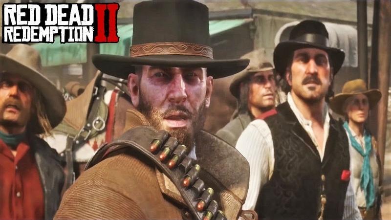 Red Dead Redemption 2 ПОСЛЕДНЕЕ ОГРАБЛЕНИЕ БАНДЫ ВАН ДЕР ЛИНДЕ
