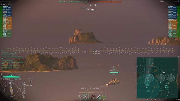 World of Warships - Лайфхак! Видимость в 0.7.4