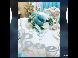 Свадьба в цвете Тиффани в белом зале LaBelle