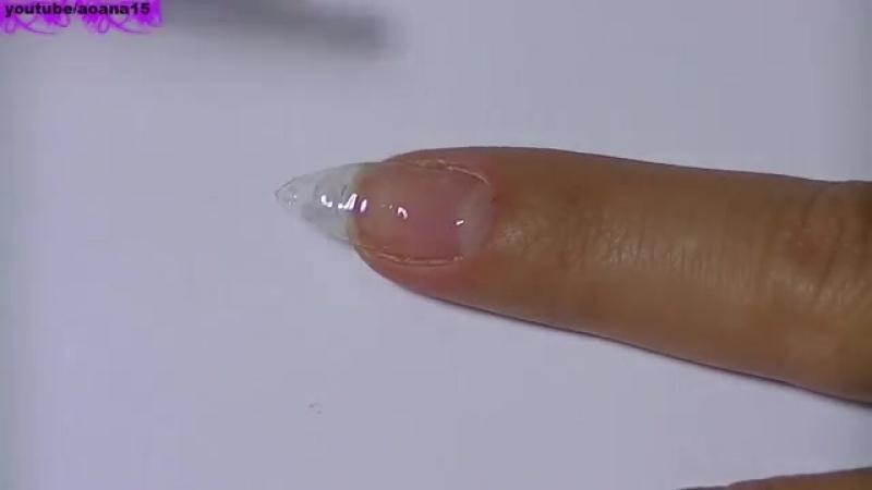 Наращивание ногтей гелем. Как наращивать ногти. Гелевое наращивание ногтей