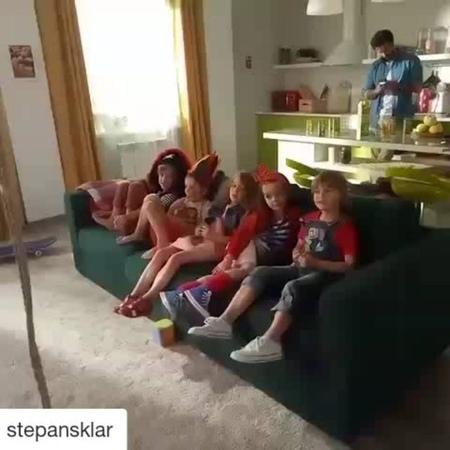 """Actors/Models on Instagram: """"Repost by @stepansklar Что? Где? Когда? На съемках рекламы @sadypridonia Это было весело и познавательно. Отгадайте ..."""