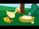 Мультфильм и сказки для детей - Гадкий утёнок - сказка