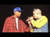 Chris Brown Performing at The Forum During Bad Bunny La Nueva Religi