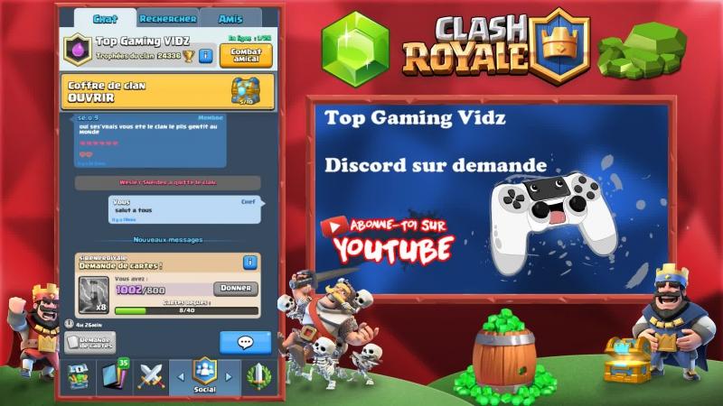 Clash Royale LIVE | Je joue avec mes abonnés pour le NoLife Challenge | No Life Challenge