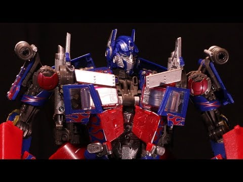 ReEdit: Hasbro MPM-4 Movie Masterpiece Optimus Prime Stop Motion Transform