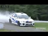 crash test subaru rally