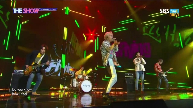 180522 N.Flying (엔플라잉) - UP ALL NIGHT @ 더쇼 The Show