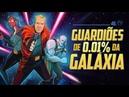 GUARDIÕES DE 0.01% DA GALÁXIA - SOCIEDADE DA VIRTUDE