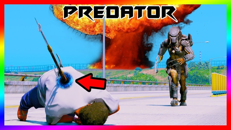 GTA 5 Mods - Quái Vật Không Gian Ultimate Predator MOD 2018 | GTA5MODAZ