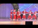 Танец Санта Клаусов Джингл белс - Рождественские забавы