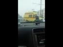 ДТП с трамваем по ул. Ударная #Бийск